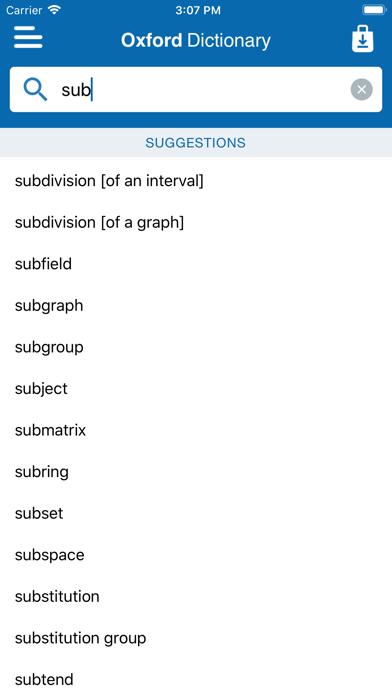 Conc. Oxford Maths Dictionaryのおすすめ画像2
