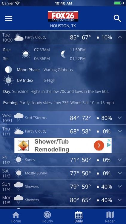 Fox 26 Houston Weather – Radar screenshot-3
