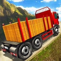 Gold Transporter Truck Drive