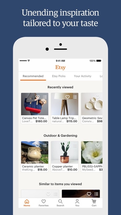Etsy – Shop special, every day