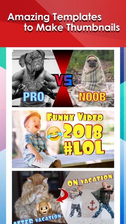 Thumbnail Maker for YT Videos screenshot-6