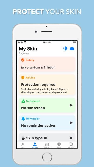 UV Index Widget - Worldwide Screenshot