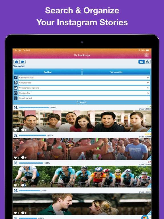 MyTopFans Pro for IG Screenshots