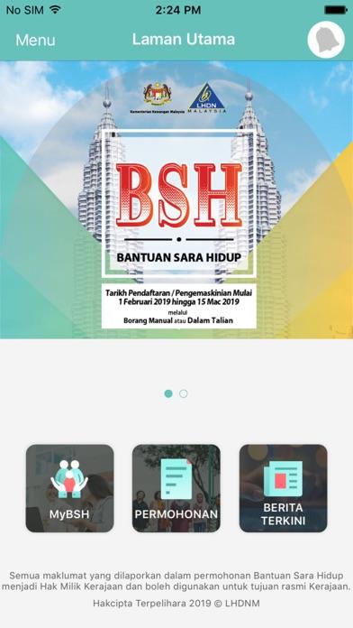 Screenshot for Bantuan Sara Hidup in Ukraine App Store