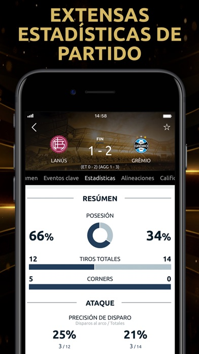 Screenshot for CONMEBOL Libertadores in Austria App Store