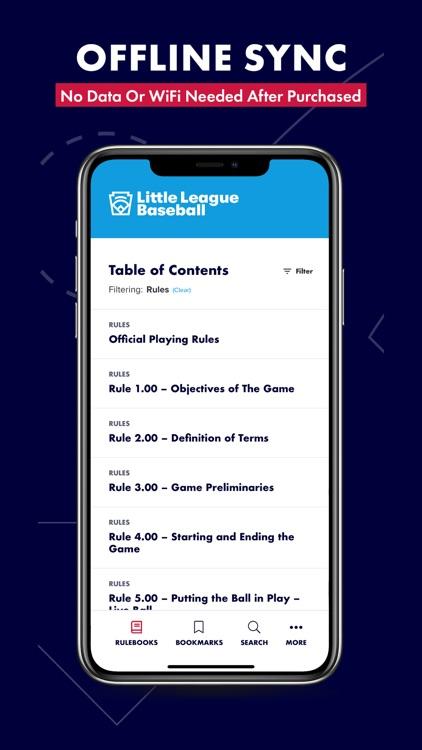 Little League Rulebook screenshot-8