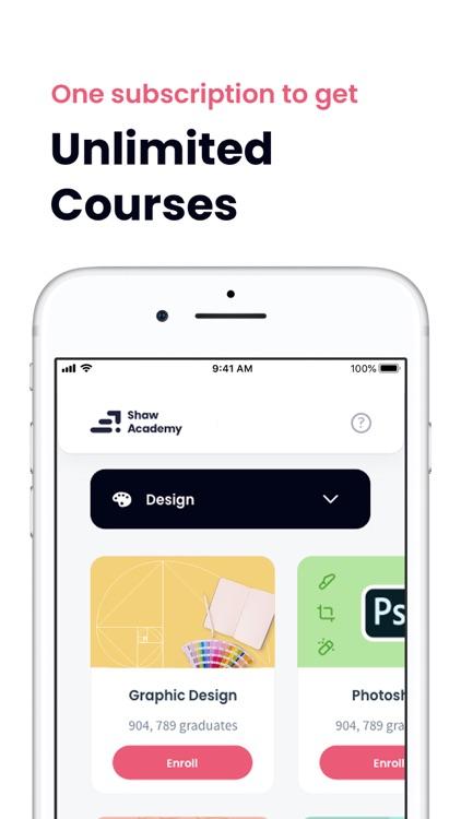 Shaw Academy – Online Courses screenshot-4