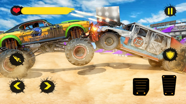Monster Truck 4x4 Derby screenshot-4