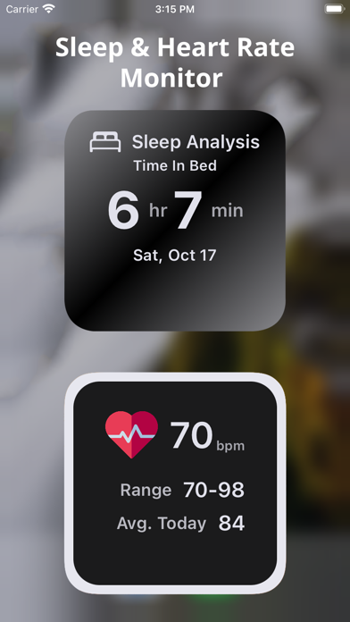 Health Widget – Smart Tracker Screenshots