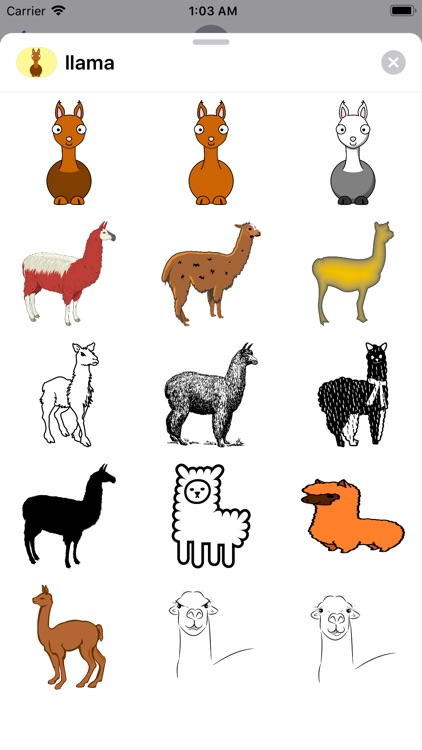 Lotsa Llama Stickers screenshot-0