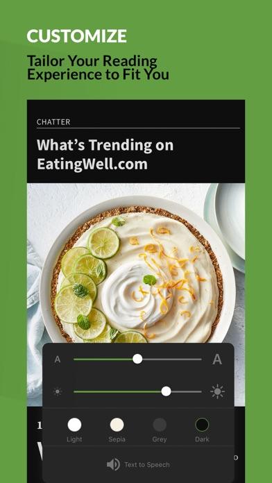 EatingWell Magazine Screenshot