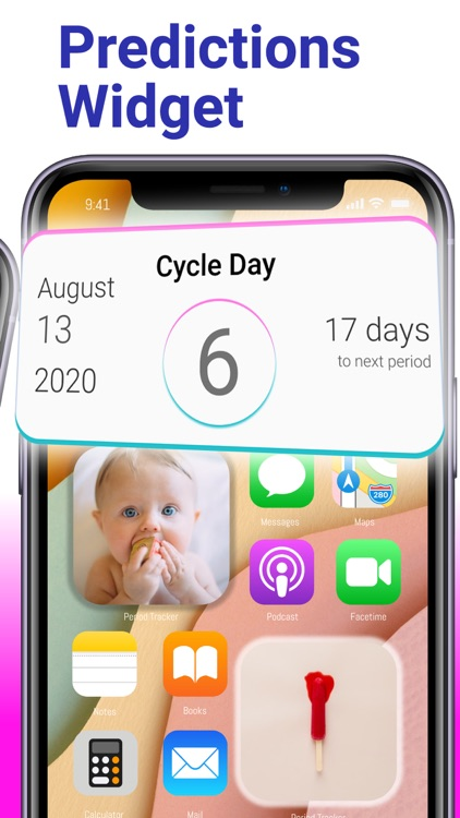 PC: Period Tracker Widget screenshot-3