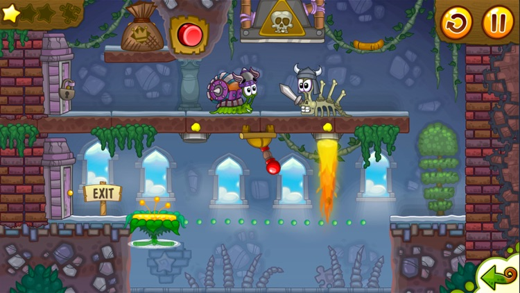 Snail Bob 2: Platform Games 2d screenshot-4
