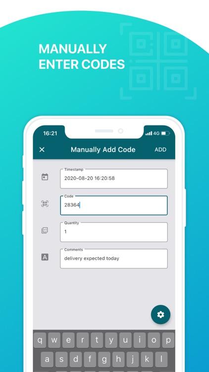 Scan to Sheets - QR & Barcode screenshot-7