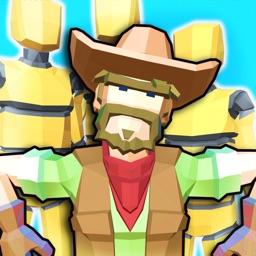 Cowboy vs Robots