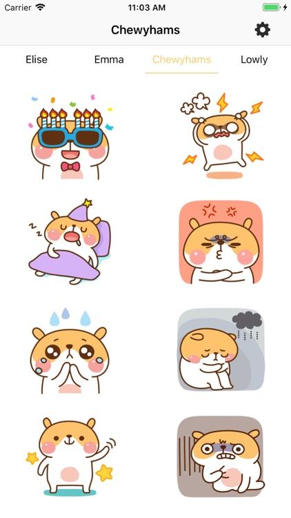 Elise emoji 2019 screenshot-3