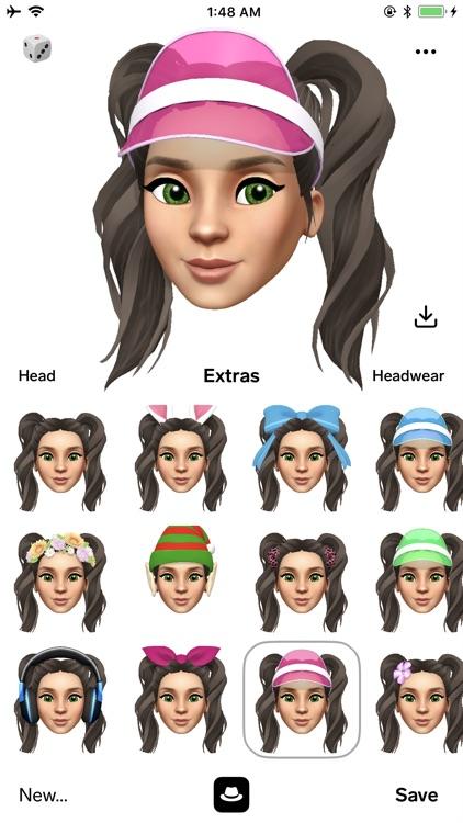 Facemoji 3D Face Emoji Avatar screenshot-4