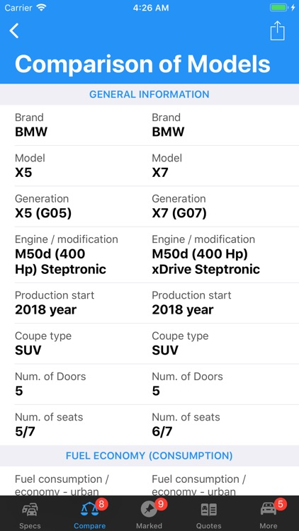 BMW Specs screenshot-9