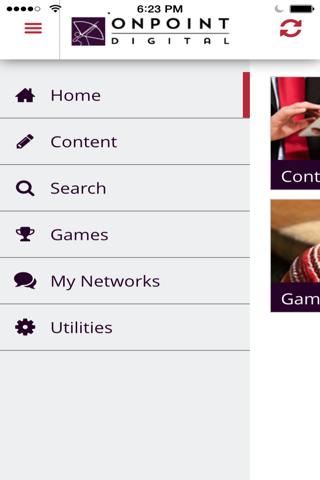 Screenshot of CellCast App