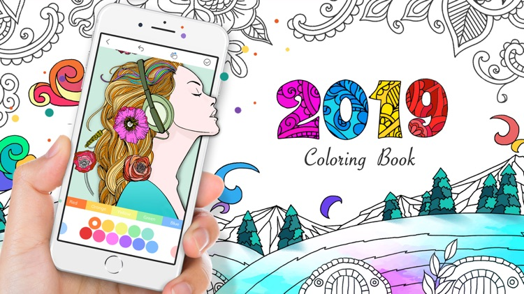 Coloring Book • 2019 •