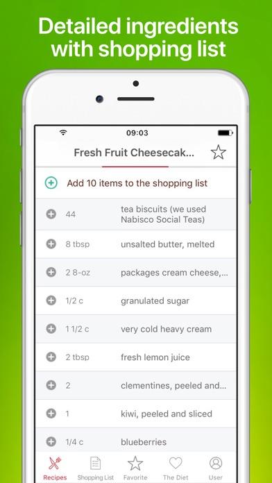Vegan Recipes - Meal Planner Screenshot