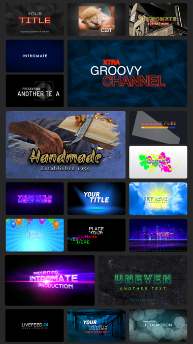 Скриншот №2 к IntroMate - Intro Maker for YT