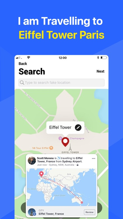 Change GPS Location!