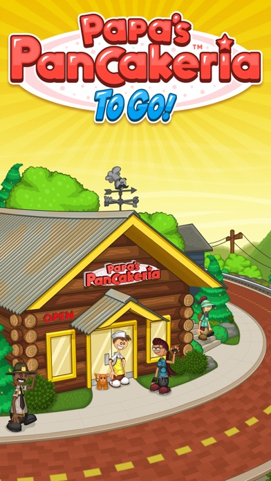 Screenshot for Papa's Pancakeria To Go! in Egypt App Store