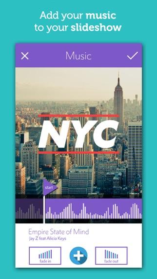 スライドショー - 、写真とビデオを作るInstagram ScreenShot4