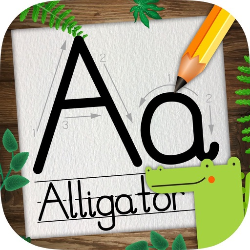 Learn to Write ABC & Numbers