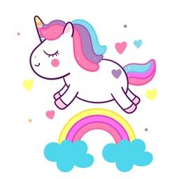 Paint a tiny unicorn