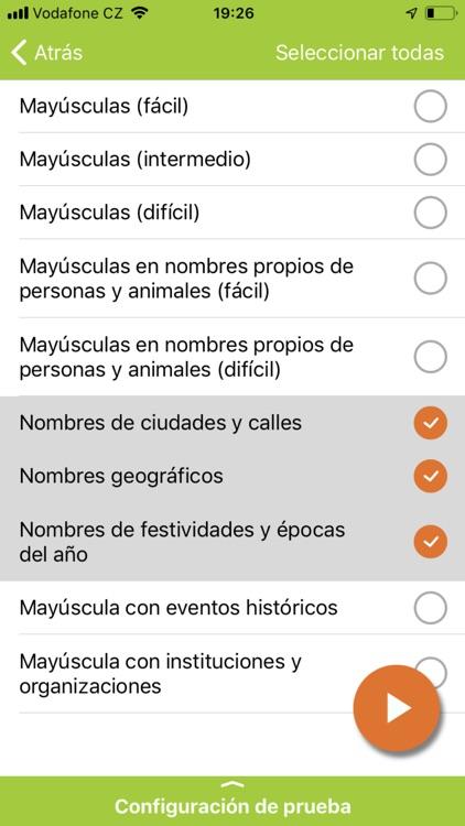Ortografía Española screenshot-5
