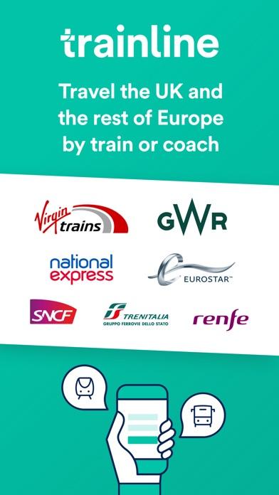 Screenshot for Trainline: Train & Coach App in United Kingdom App Store