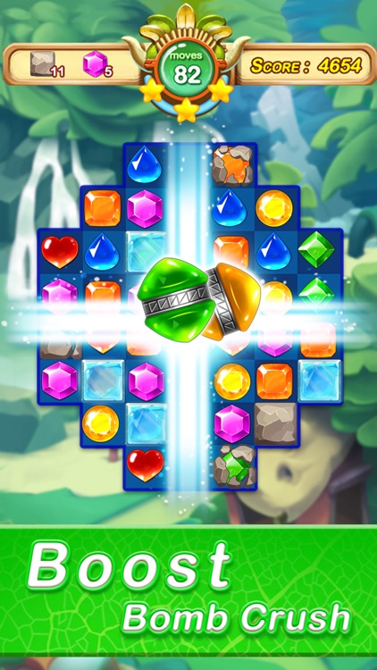 Jewels & Gems - Match 3 Games screenshot-4