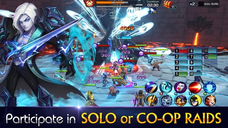 Sins Raid: Heroes of Light screenshot-3