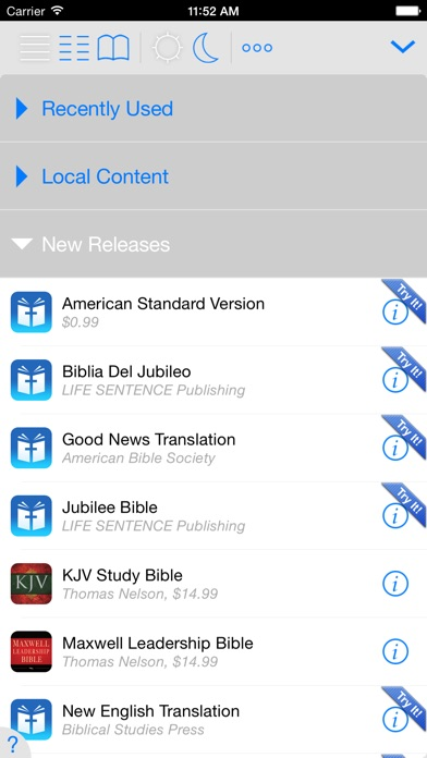 Message Bible review screenshots