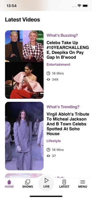 NDTV HOP Live on the App Store