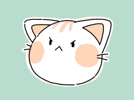 Have some scribbley kitty iMessage stickers to brighten up your messaging