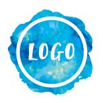 Watercolor Logo Maker pour pc