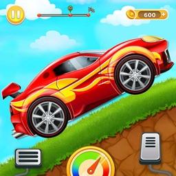 Sports Car Hill Driving Rush