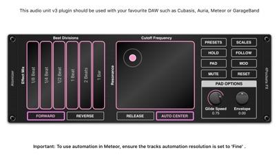 Atomizer AUv3 Plugin screenshot 2