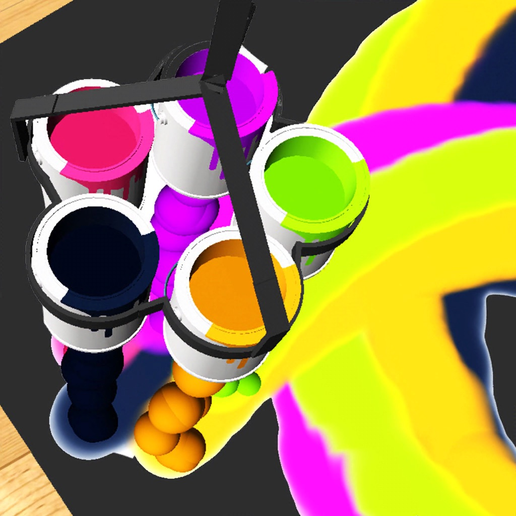 ASMR Art - Spin Painting hack
