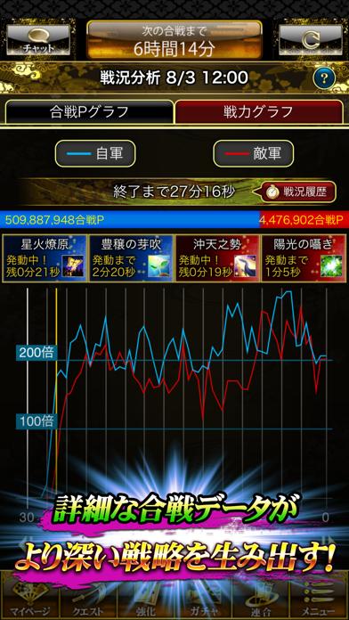 戦国炎舞 -KIZNA- 【人気の本格戦国RPG】 ScreenShot4