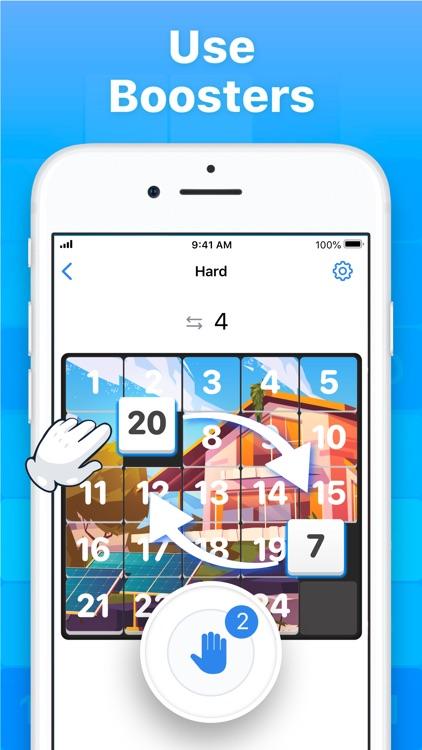 Slide Puzzle - Number Game screenshot-3