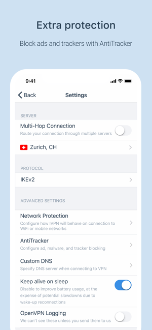 ‎IVPN - Secure VPN for Privacy Screenshot