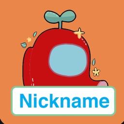 Nicknames for Among Us