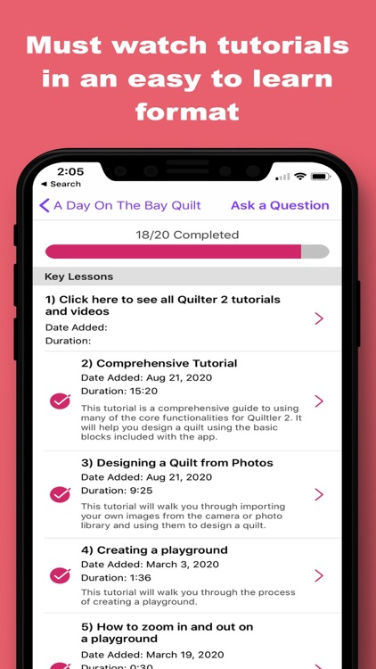 Quiltler 2 - Quilting App screenshot-4