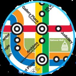 Washington DC Metro Map