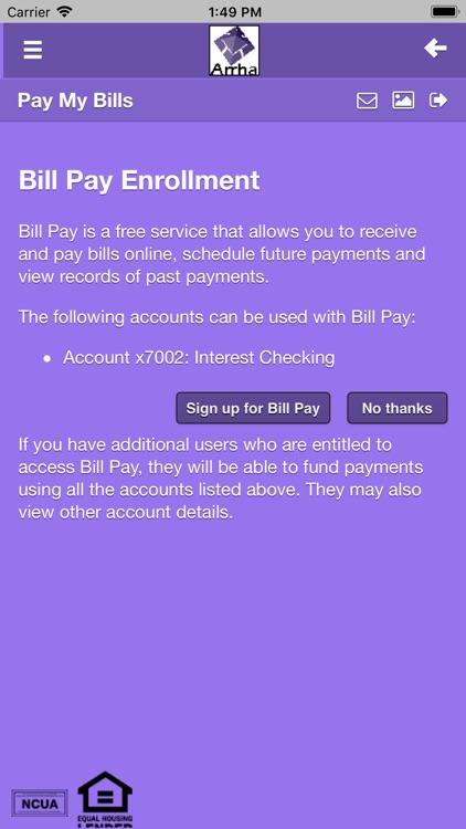 Arrha Mobile Banking screenshot-3