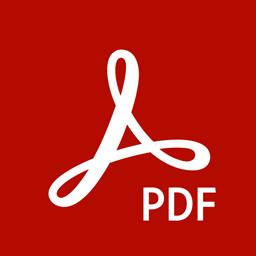 Ícone do app Adobe Acrobat Reader: Ler PDF